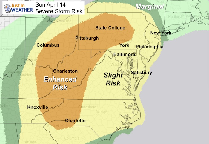 Severe Storm Risk This Afternoon And Tonight April 14 – Just ... on thunderstorm risk map, disaster risk map, flood risk map, social media risk map, world bank map, travel risk map, enterprise risk map, tsunami risk map, earthquake risk map, heat risk map,