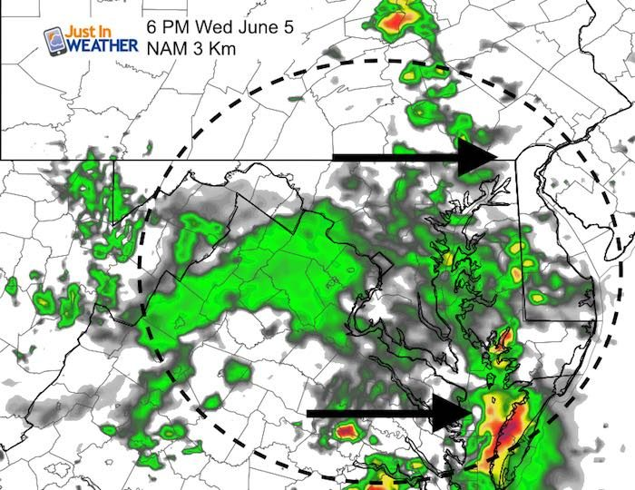 June 5 Weather: Warmer With Marginal Risk For Severe