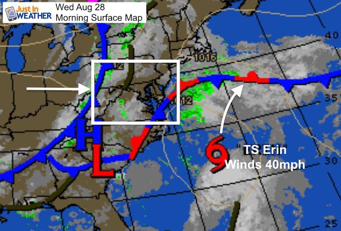 August 28 Rain Today Two Tropical Storms One May Reach US As ...