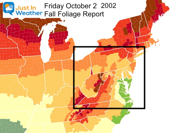 Fall Foliage Report East October 2 2020
