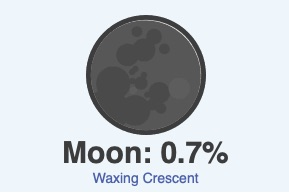 October 17 moon phase
