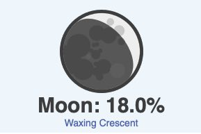 October 20 moon phase