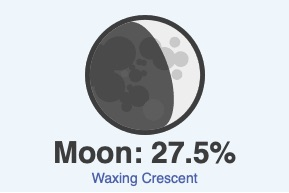 October 21 moon phase
