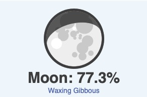 October 26 moon phase