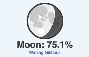 October 7 moon phase