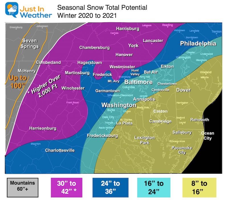 My Snowcall For Winter 2021