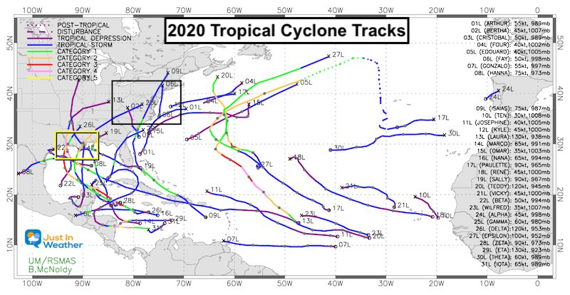 Tropical Atlantic 2020