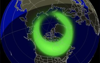 December 10 Aurora Forecast North America