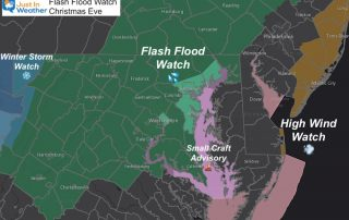 December 23 Flash Flood Watch Christmas