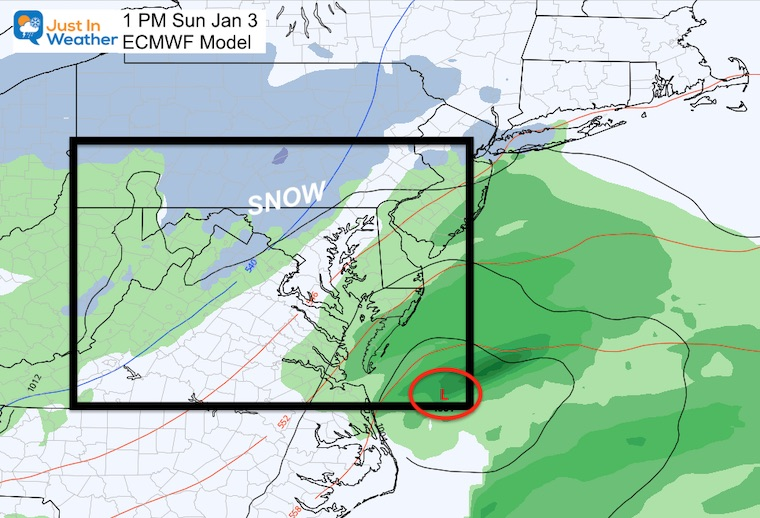December 28 forecast weather snow Sunday