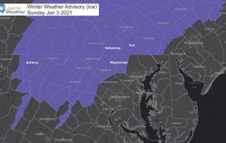 January 2 winter weather weather advisory