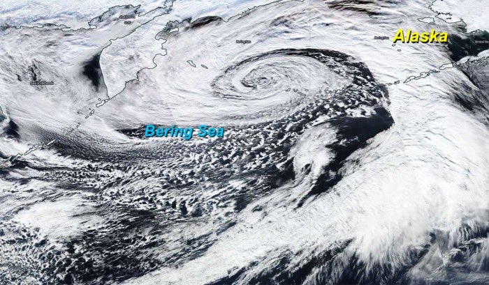 Record Low Bering Sea December 31 2020