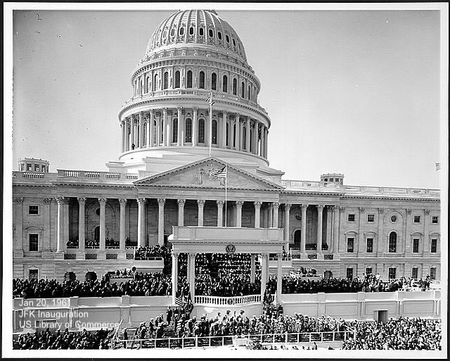 US Capitol for inaugurationJFK