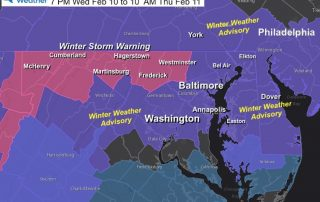 February 10 Winter Storm Warning