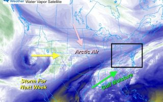 February 12 weather Friday morning satellite