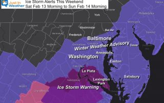 Ice Storm and Winter Weather Advisory starting February 13