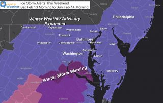 Ice Storm expanded advisory Feb 13