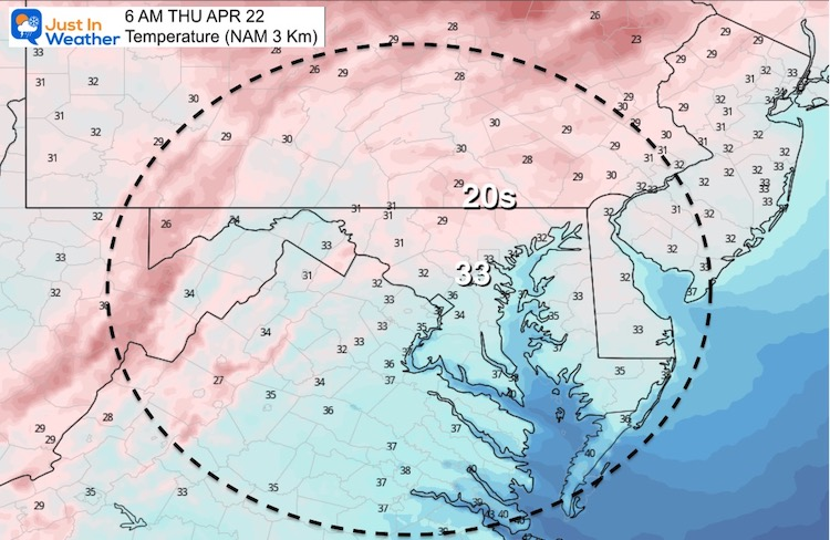 April-22-weather-earth-day-temperature-morning-NAM
