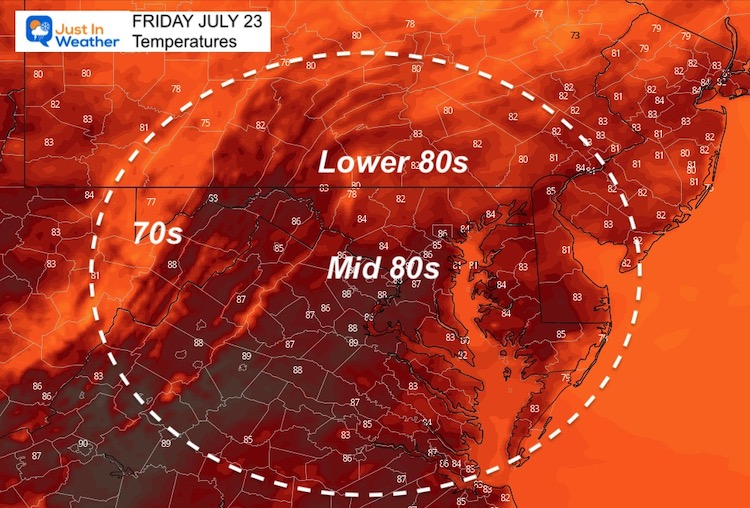 July_23_weather_temperatures_Friday_afternoon