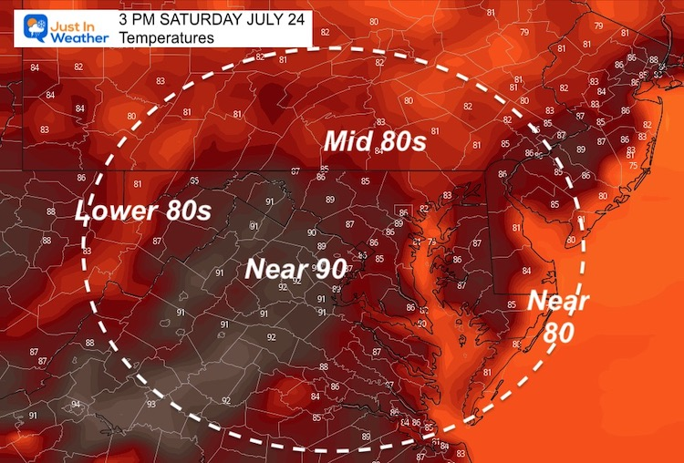 July_23_weather_temperatures_Saturday_afternoon
