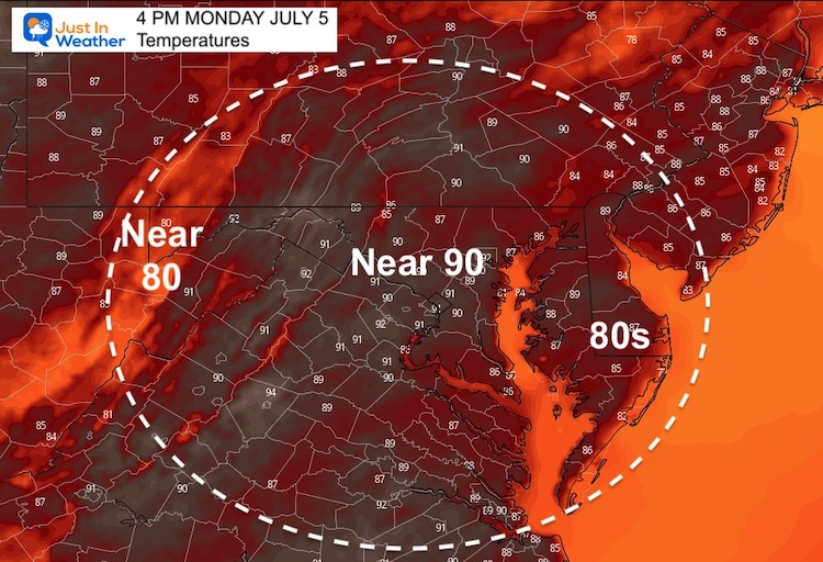 july_5_weather_monday_temperatures