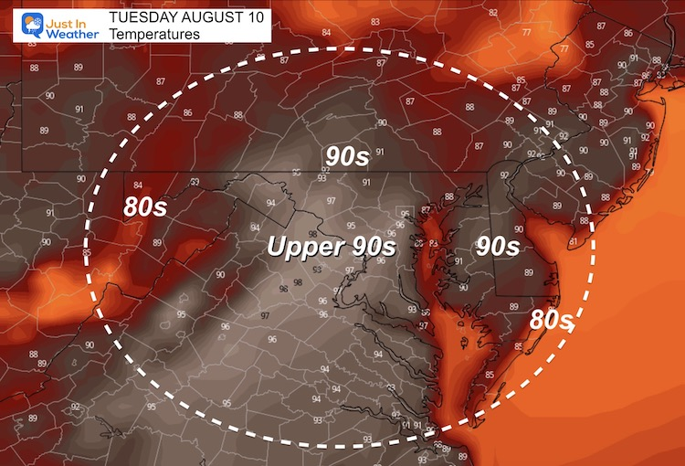 August_10_weather_temperatures_Tuesday_afternoon