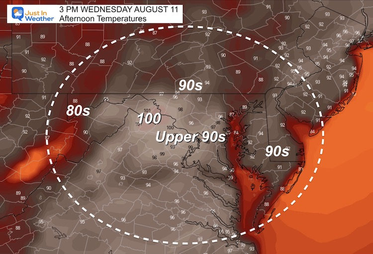 August_10_weather_temperatures_Wenesday_afternoon