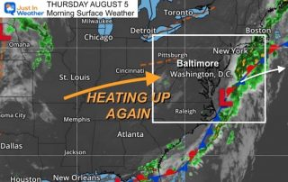 August_6_weather_temperatures_Thursday_morning